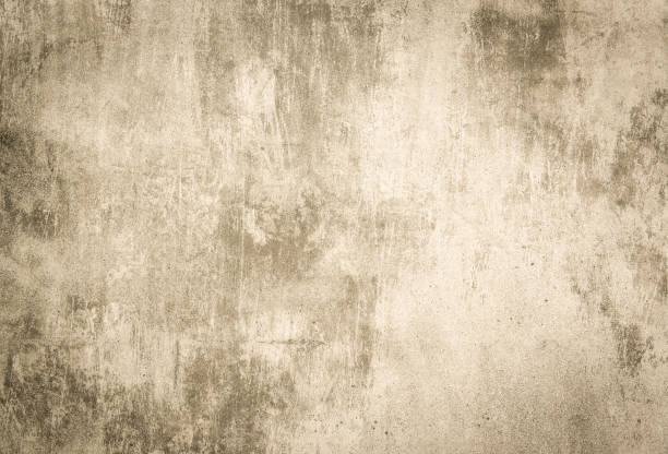 Sepia concrete wall 스톡 사진