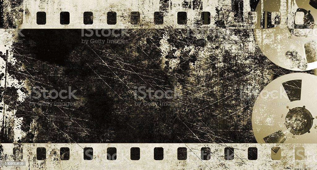 Sepia Vintage Filmstreifen Rahmen Stockfoto 530932606   iStock