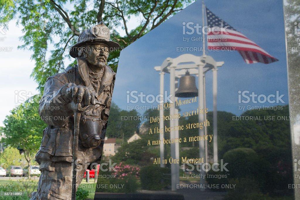 September 11th Memorial, Peekskill, NY stock photo