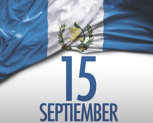 15 de septiembre, independencia Guatemala - foto de stock