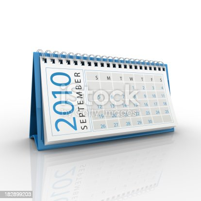 184360486 istock photo September 2010 calendar 182899203