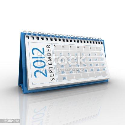 istock September 2012 Calendar 160504266