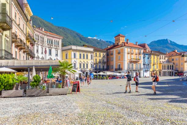 05 september 2018. Locarno, Switzerland. stock photo