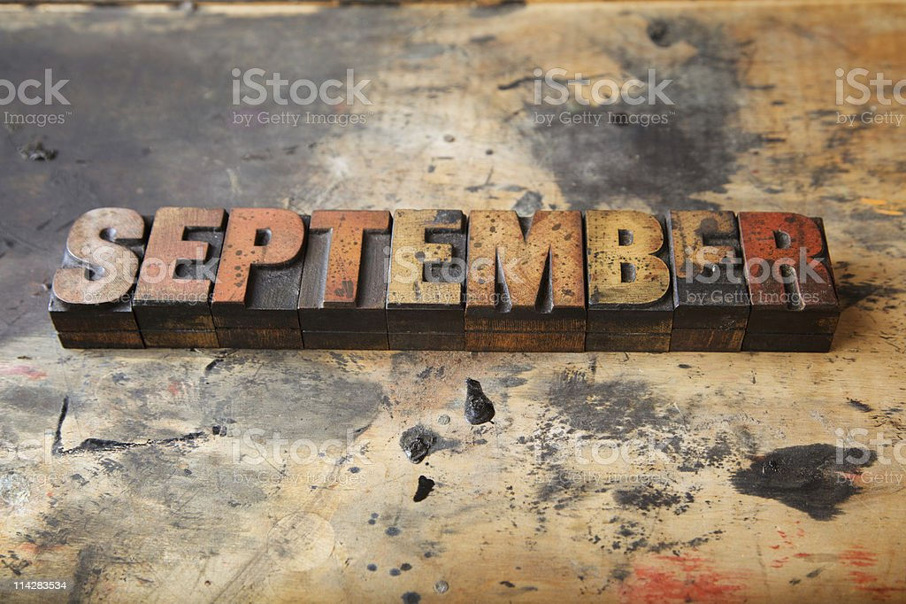 September... stock photo