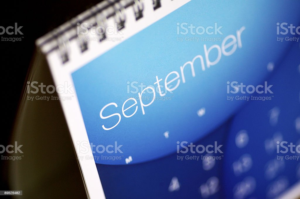 September up close... royalty-free stock photo