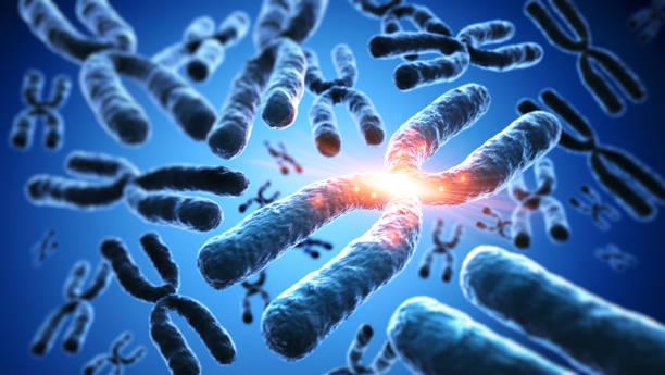 dna sequence, dna code structure - medical 3d illustration - mutazione genetica foto e immagini stock