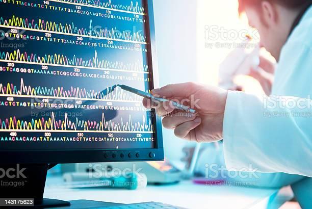 Dnasequence Stockfoto und mehr Bilder von DNA