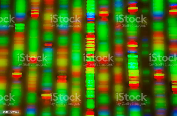 Dna Sequence Stock Photo - Download Image Now