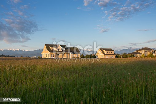 Sequim, Clallam County, Farm, Olympic Peninsula, Pacific Northwest