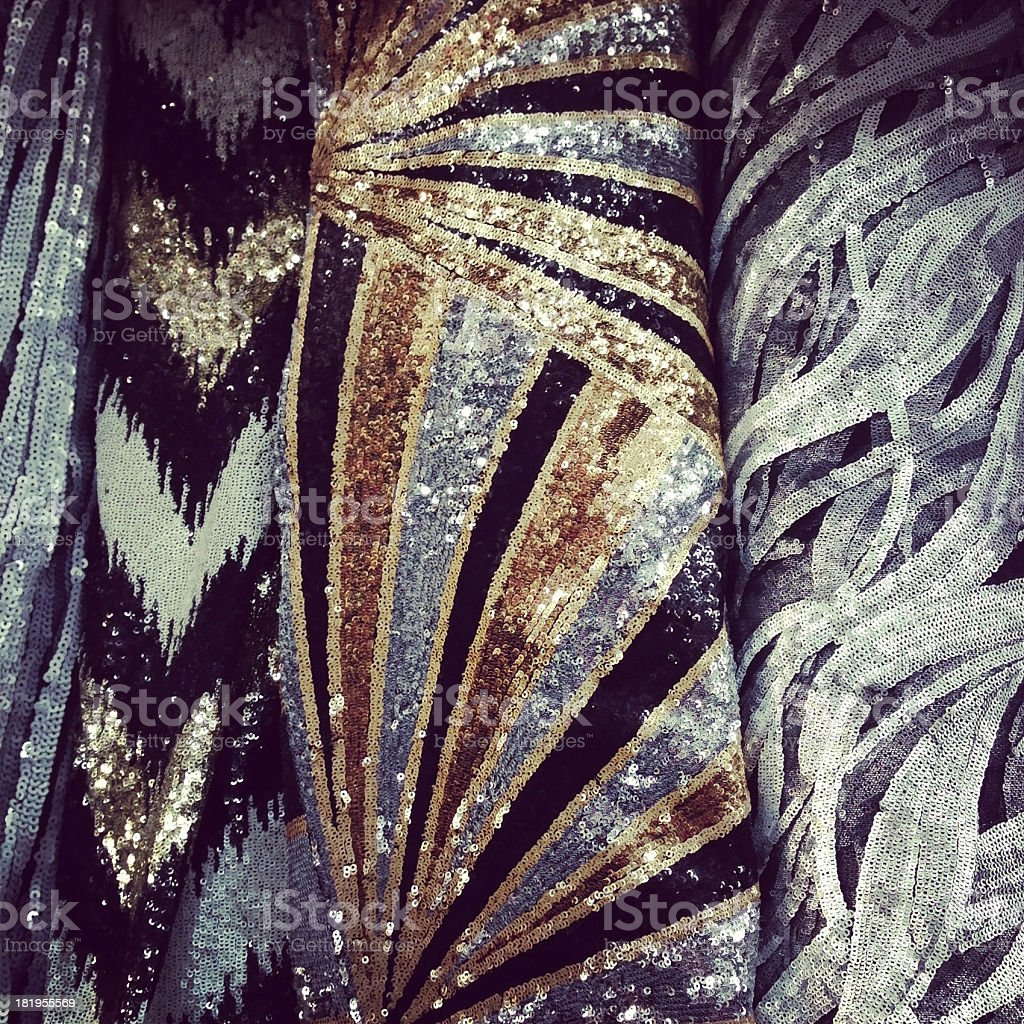 Sequin Background royalty-free stock photo