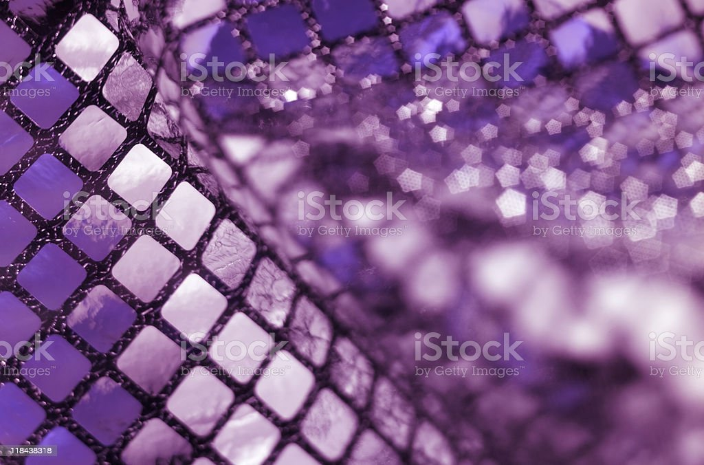 sequined back royalty-free stock photo
