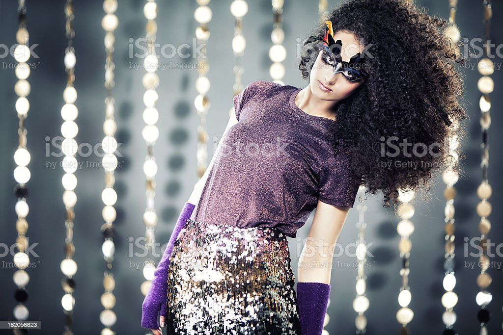 Sequins Fashion royalty-free stock photo
