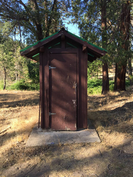 Sequoia Series 2 - Outhouse stock photo