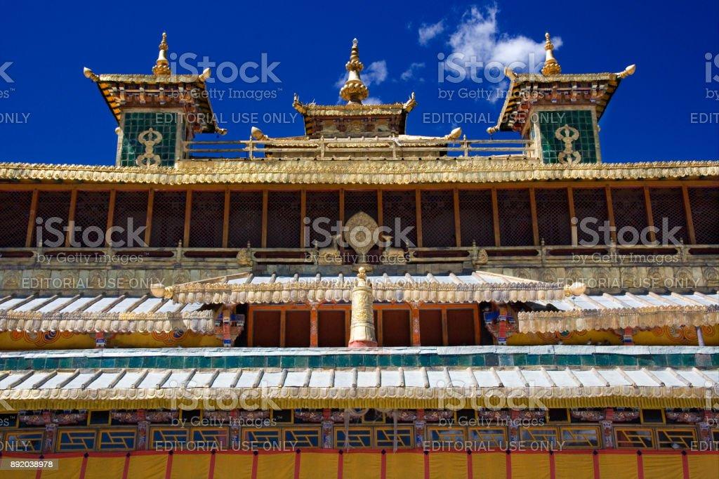 Sera Buddhist Monastery - Tibet Autonomous Region of China stock photo