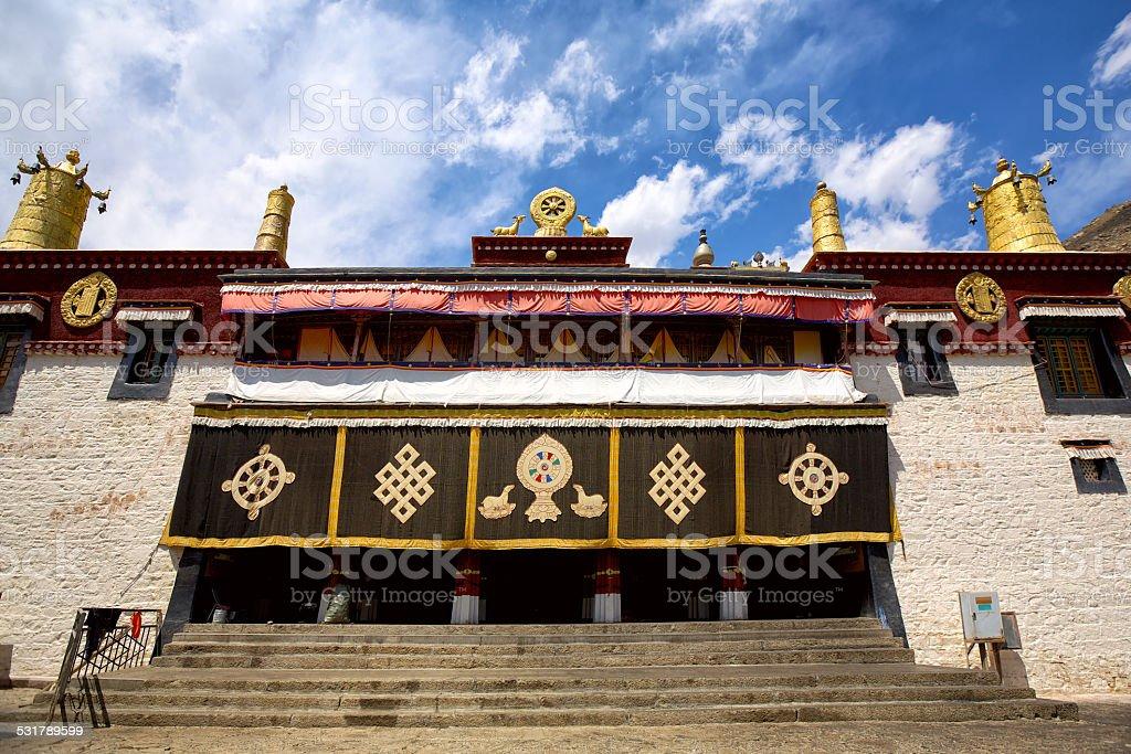 Sera Monastery stock photo
