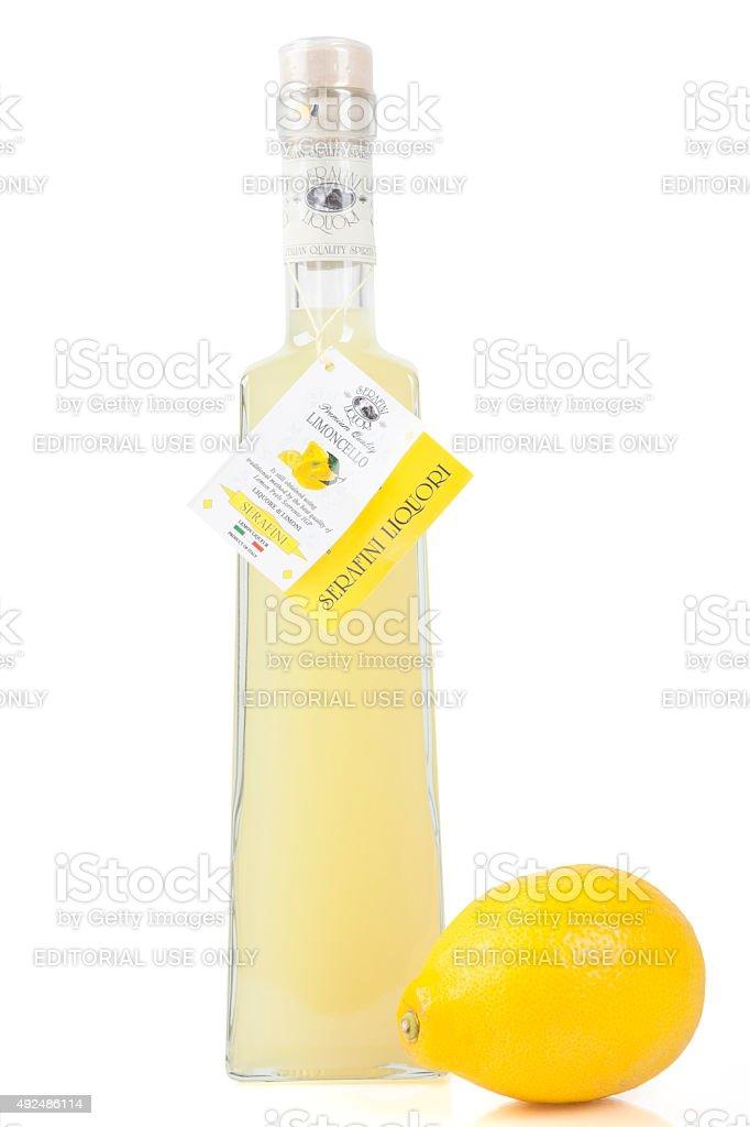 Serafini Liquori Limoncello stock photo