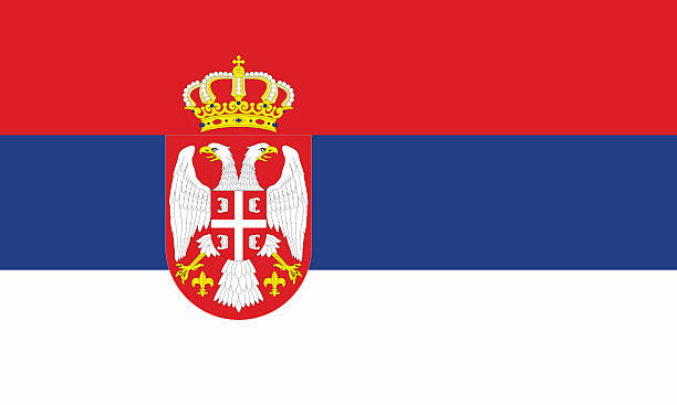 serbia flag serbia flag serbia and montenegro stock pictures, royalty-free photos & images