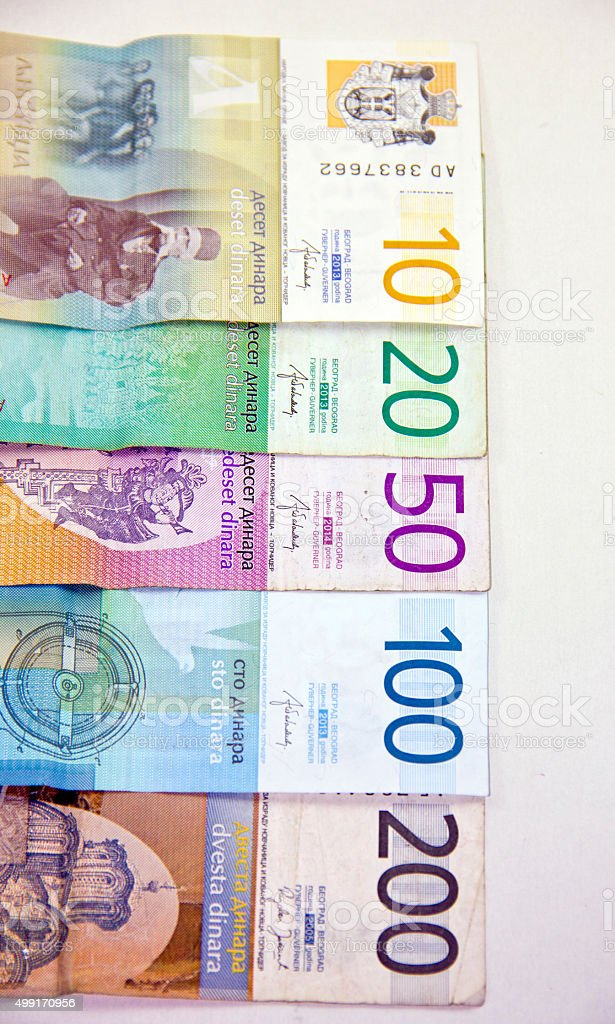Serbian Dinar Stock Photo More Pictures Of 2015 Istock