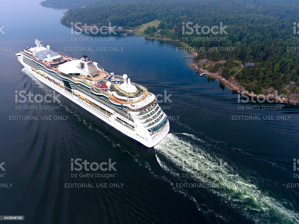 Serenade of the Seas stock photo