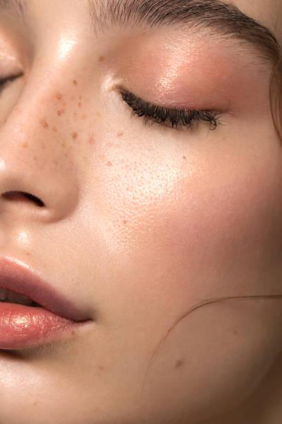 beauté sereine - peau photos et images de collection