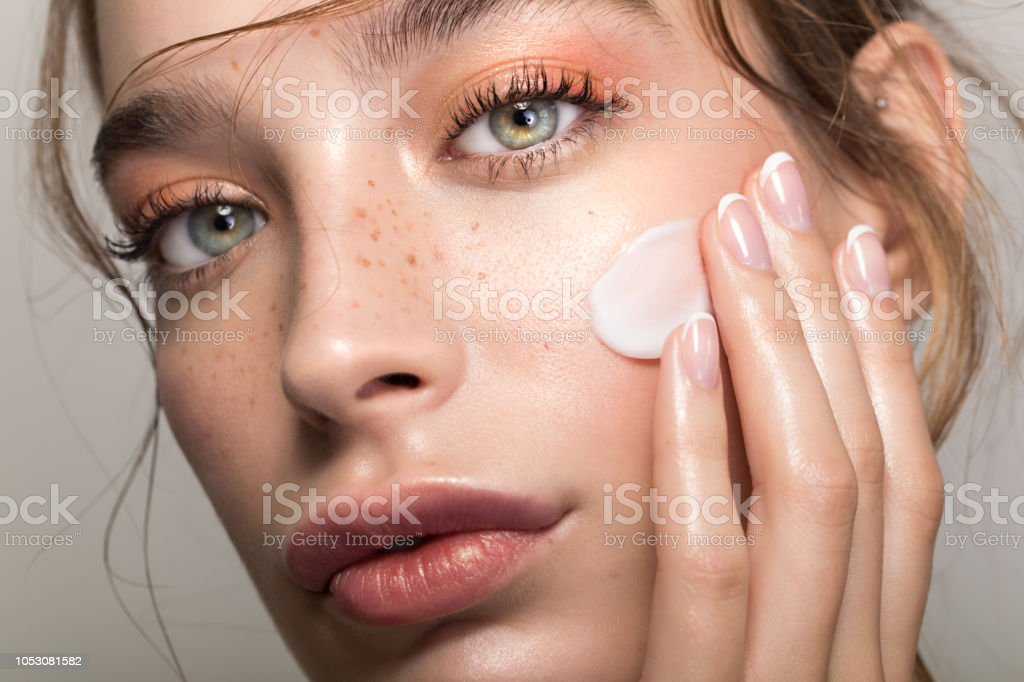 Serene beauty stock photo