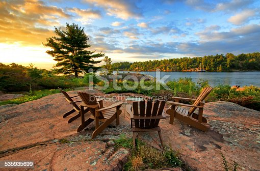 istock Serene image from cottage living 535935699