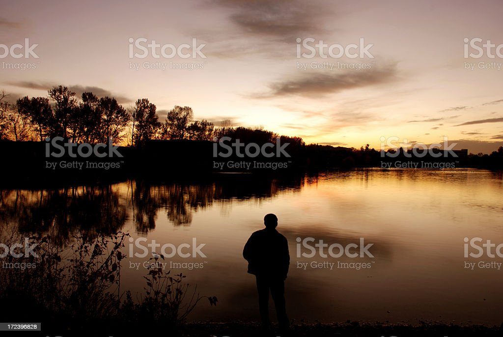 Serene scene royalty-free stock photo