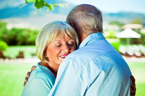 Serene Seniors Stock Photo - Download Image Now