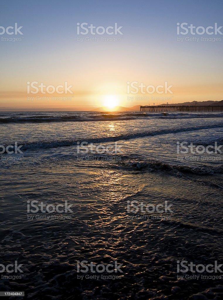Serene Sunset royalty-free stock photo