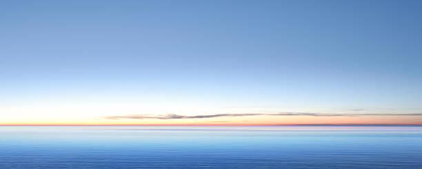 XXL serene twilight lake serene lake at twilight, panoramic frame (XXL) horizon over water stock pictures, royalty-free photos & images