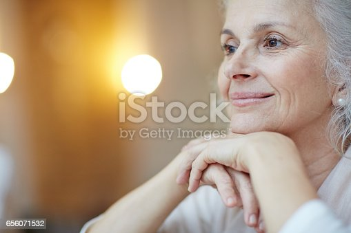 istock Serene woman 656071532