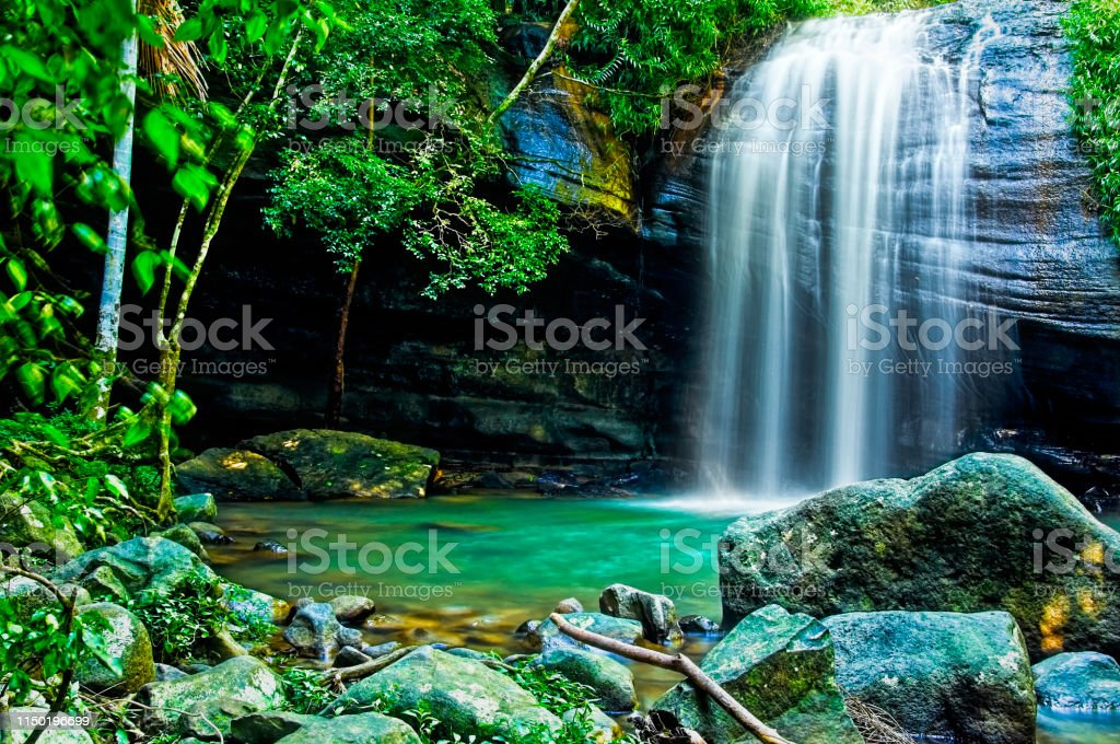 Serenity Falls in Buderim - Royalty-free Australia Stock Photo