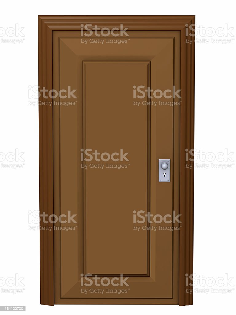 Serie of The Door royalty-free stock photo
