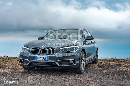 BMW 1 Series 116d 5-door. Italy, Catania May 12 2019