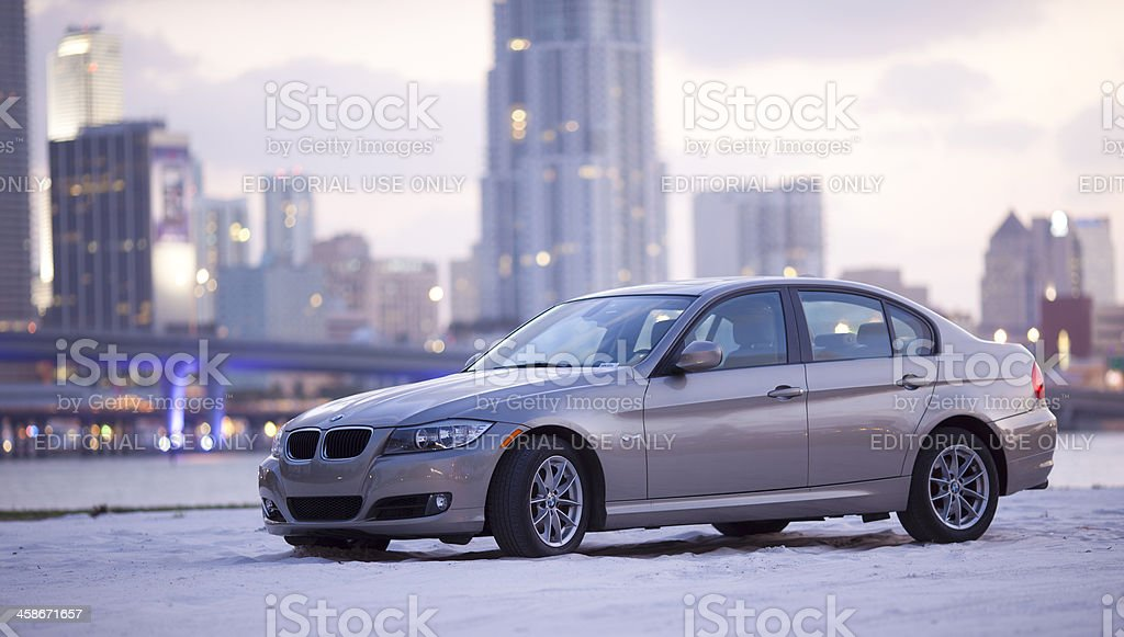BMW 3 Series 328 royalty-free stock photo