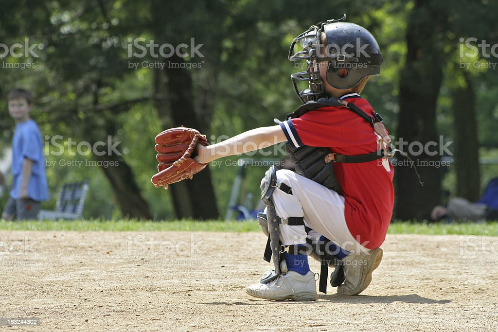 SPORTS series: Baseball royalty-free stock photo