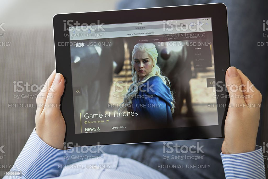 HBO Series Game of Thrones stock photo