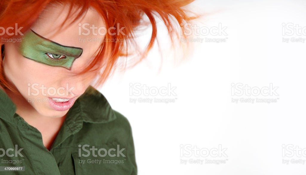 WIND I series - green royalty-free stock photo