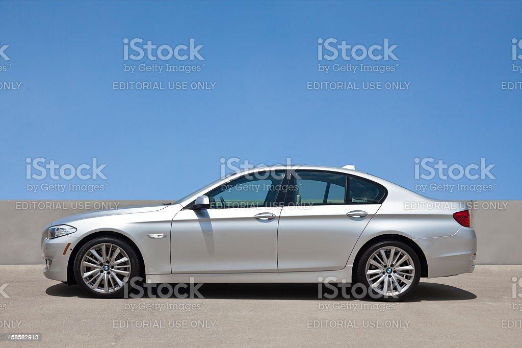 BMW 5 Series stok fotoğrafı