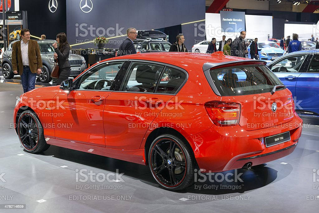 BMW 1 series royalty-free stock photo