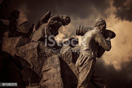 istock Serife Baci Statue,Kastamonu,Turkey 501592370