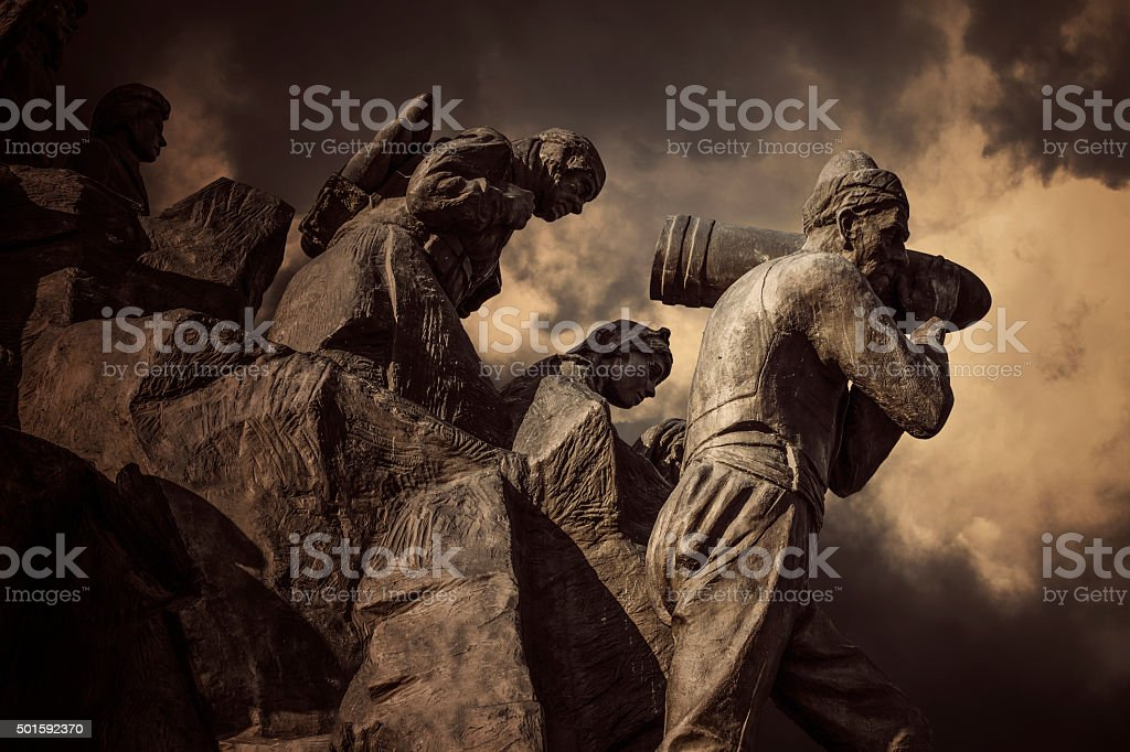 Serife Baci Statue,Kastamonu,Turkey stock photo