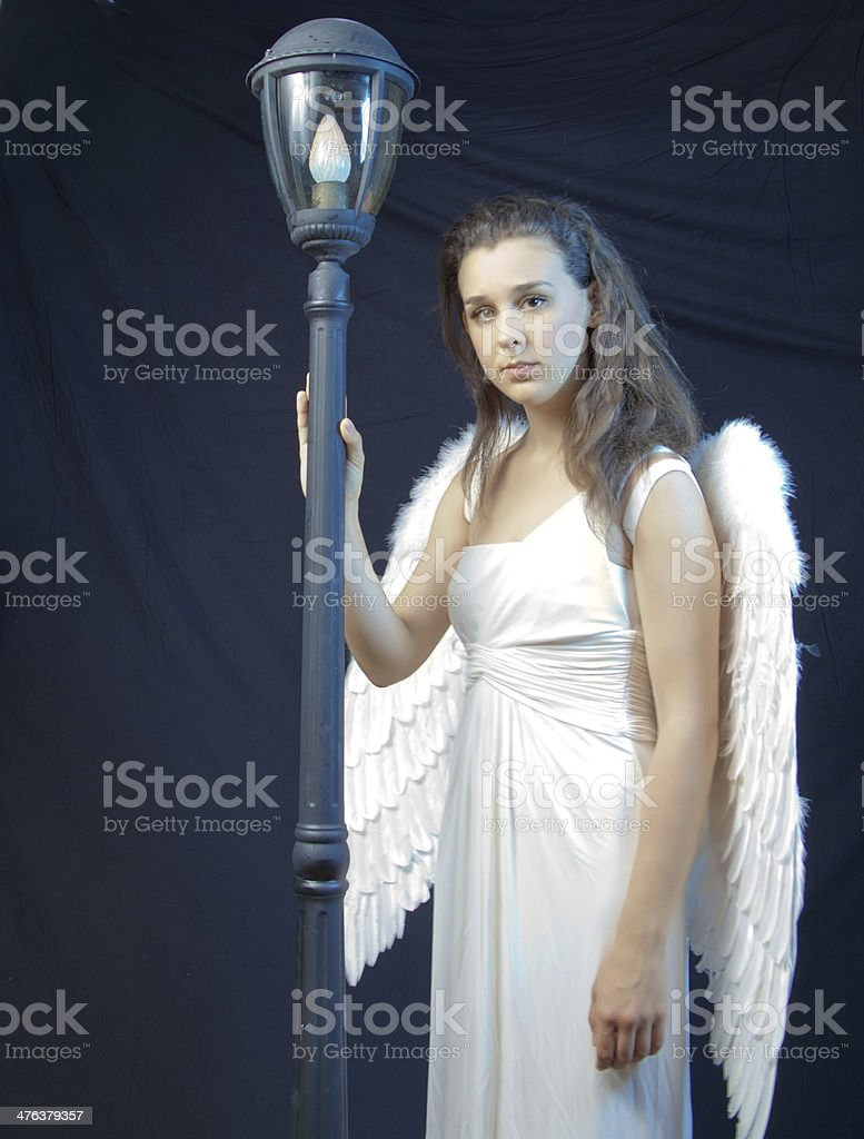 Serious Angel royalty-free stock photo