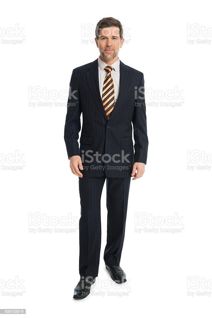 Serious Businessman stock photo