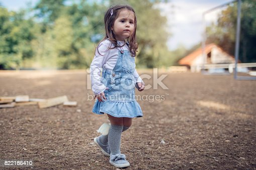 678589610istockphoto A serious little girl's look 822186410