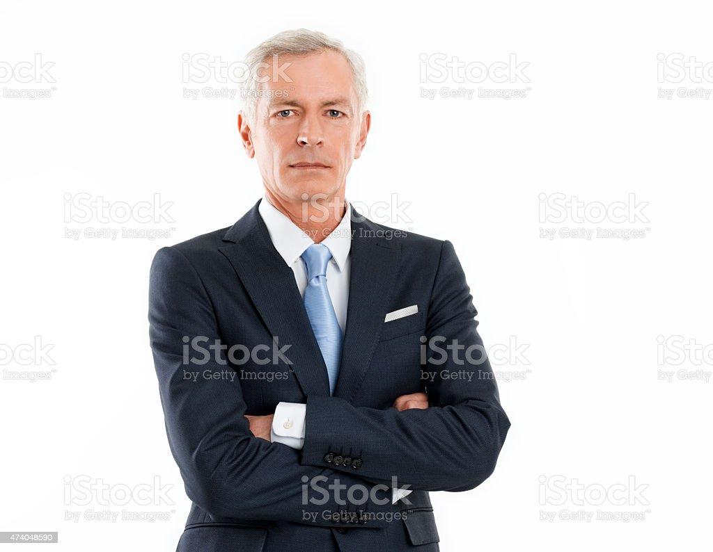 Senior Homme d'affaires - Photo