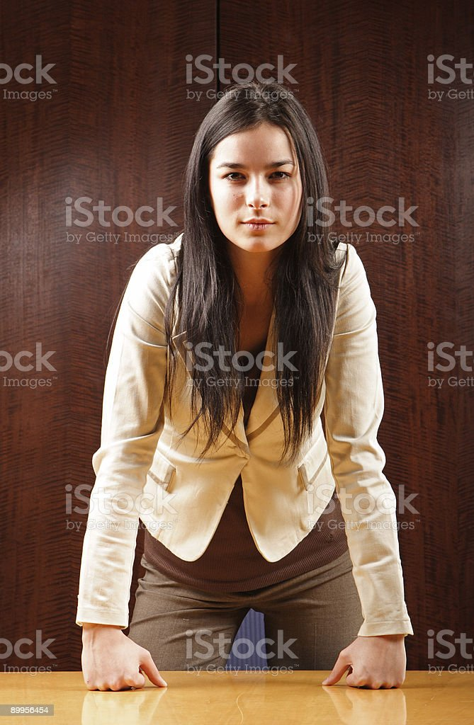 Serious Manager royalty-free stock photo