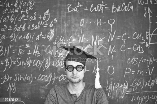 istock Serious student 179125421