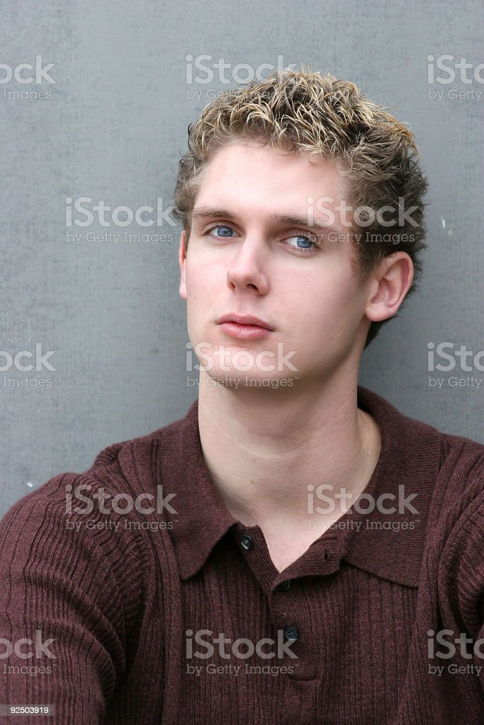 serious student royalty-free stock photo