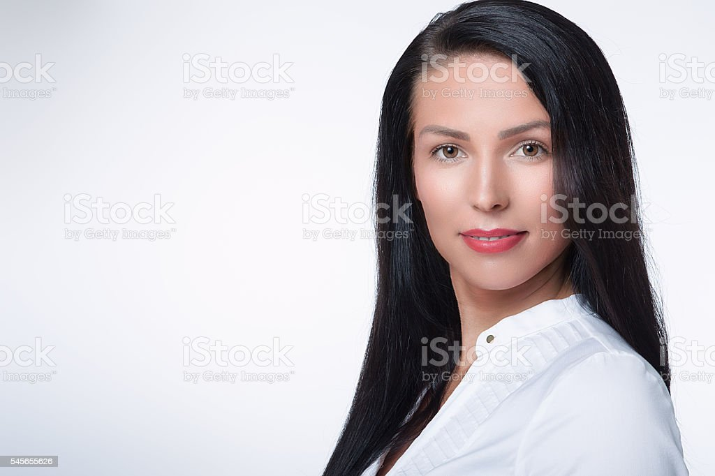serious success stock photo